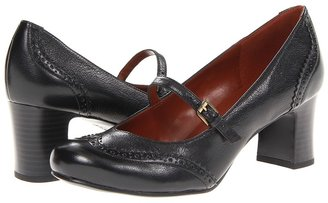 Naturalizer Jepson (Black Leather) - Footwear
