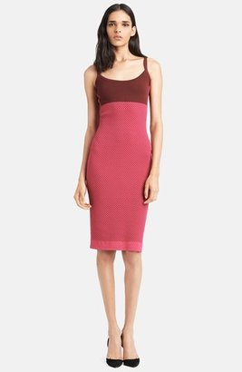 Narciso Rodriguez Colorblock Knit Tank Dress