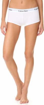 Calvin Klein Underwear Modern Cotton Boy Shorts $22 thestylecure.com
