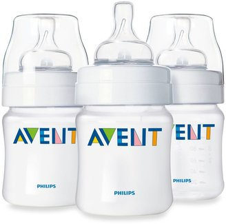 Avent Naturally Classic Natural Feeding 3-Pack 4-Ounce Bottle