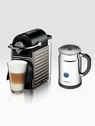 Nespresso Pixie Espresso Maker & Aeroccino Automatic Milk Frother
