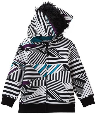 Fleece Baby Tony hawk striped fleece hoodie - toddler