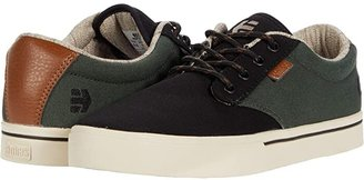 Etnies Jameson 2 Eco (Black/Green/Black) Men's Skate Shoes