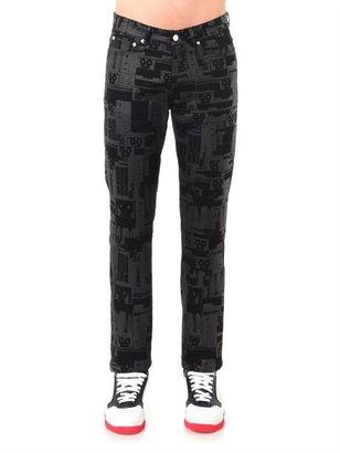 Givenchy Robot-print skinny jeans
