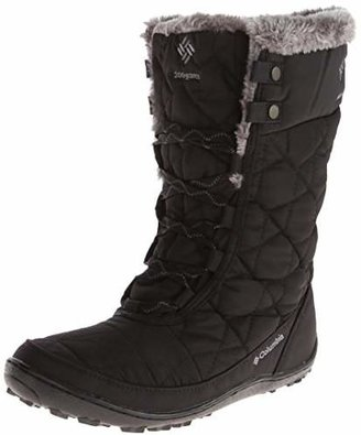 Columbia Women's Minx Mid Ii Omni-heat Snow Boot, Black, Charcoal, 8.5 B US $62.25 thestylecure.com