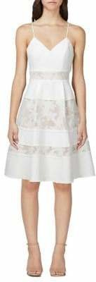 Adelyn Rae Elyse Woven Fit and Flare Dress