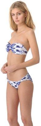Zero Maria Cornejo Belu Bandeau Bikini Top