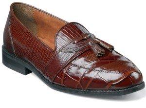 Stacy Adams Santana Printed Tassel Loafers Men's Shoes
