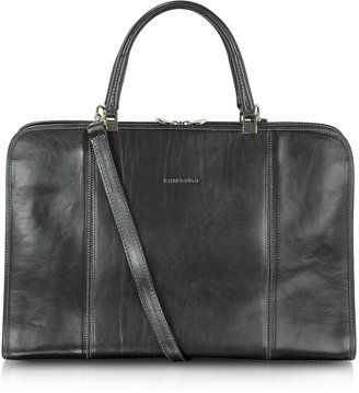 Chiarugi Double Handle Leather Briefcase