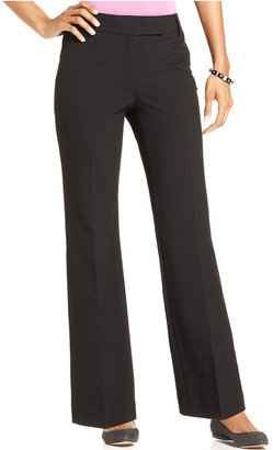 Charter Club Pants, Straight-Leg Slim It Up Trousers