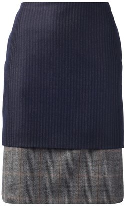 Dries Van Noten two-tier 'Selma' skirt