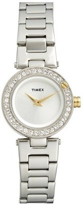 Timex ® 'Starlight' Crystal Bezel Bracelet Watch, 24mm $130 thestylecure.com