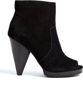 MICHAEL Michael Kors Black Suede Codie Ankle Boots