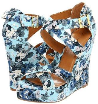 Miss Me Heart-35 (Blue) - Footwear