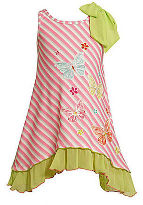 Bonnie Jean 7-16 Butterfly-Screenprint Dress
