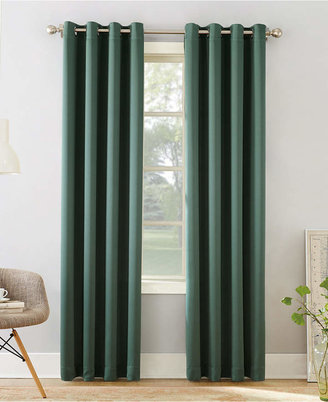"Sun Zero Grant Room Darkening Grommet 54"" x 84"" Curtain Panel"