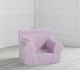 Pottery Barn Kids My First Light Lavender with White Piping Anywhere Chair