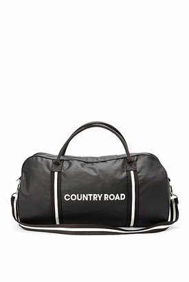 Country Road Coated Rubber Logo Tote