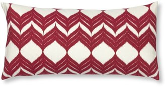 Williams-Sonoma Cherry Red Ikat Pillow Cover