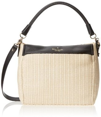 Kate Spade Cobble Hill Straw Little Curtis Shoulder Handbag