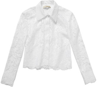 Balenciaga Dentelle resin lace shirt