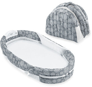 Bed Bath & Beyond Baby Delight® Snuggle Nest® Surround Portable Infant Sleeper - Grey/White