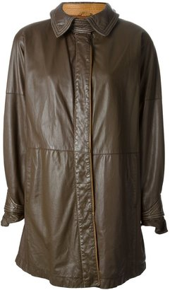 Gianfranco Ferré Pre-Owned Buttoned Coat
