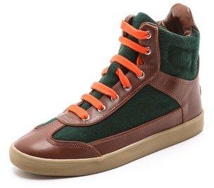 Tory Burch Evelin High Top Sneakers