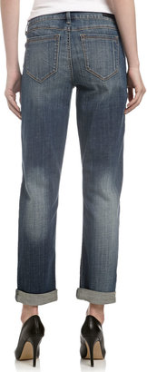 Fade to Blue Best Friend Cropped Jeans