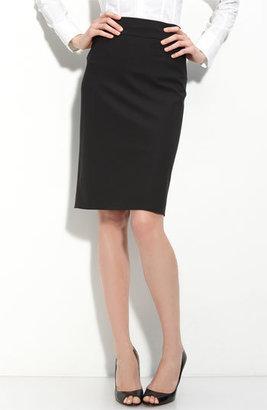 BOSS 'Veronice' Tropical Wool Skirt