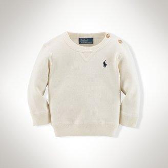 Long-Sleeved Crewneck Sweater