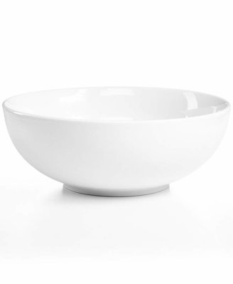 The Cellar Whiteware Porcelain Round Vegetable Bowl, Created for Macy's