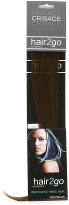 "Crisace hair2go Side Panels, 17.5"", Chocolate Blonde 1 ea"