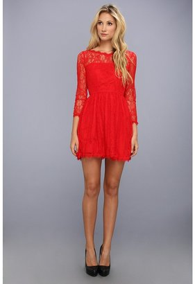 Juicy Couture Delicate Lace Dress Women's Dress