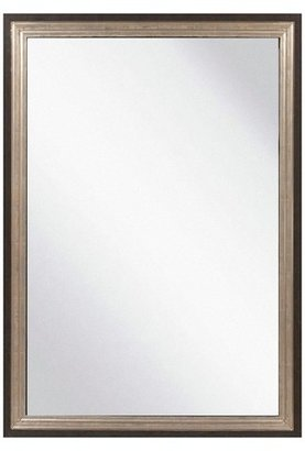 Surya Rectangle Chatwyn Decorative Wall Mirror Onyx