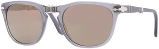 Persol Plastic Folding Sunglasses, Gray