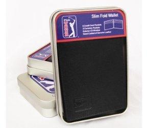 PGA TOUR Men's Slimfold Wallet In Gift Tin
