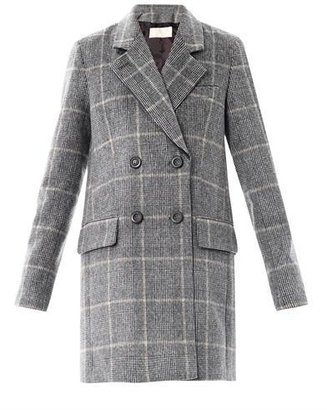 Vanessa Bruno Prince of Wales double-breasted coat