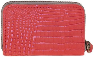 Cynthia Vincent Embossed Coin Wallet