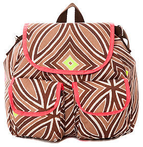 Le Sport Sac The Small Convertible Backpack In Mai Tai Flourescent