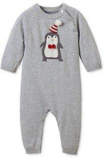 Elegant Baby Boys' Knit Penguin Coverall - Baby