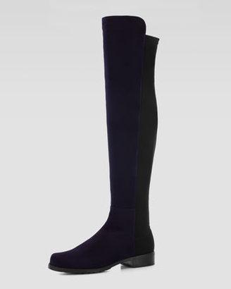 Stuart Weitzman 50/50 Back-Stretch Knee Boot