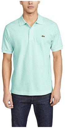 Lacoste L1212 Classic Pique Polo Shirt (Methylene) Men's Short Sleeve Knit