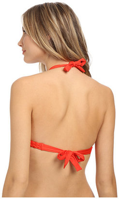 Vitamin A Swimwear New Chloe Braid Full Halter Top