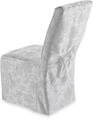 Bed Bath & Beyond Holiday Joy Dining Room Chair Cover - White
