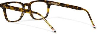 Thom Browne D-Frame Matte-Acetate Glasses