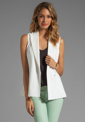 Theory Caledon Annea Wool Twill Vest