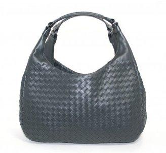 Bottega Veneta excellent (EX Ardoise Leather Campana Shoulder Bag