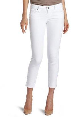 Paige Women's Kylie Crop With Slit Jean