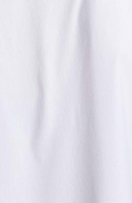 Paperwhite Bias Cut A-Line Tunic